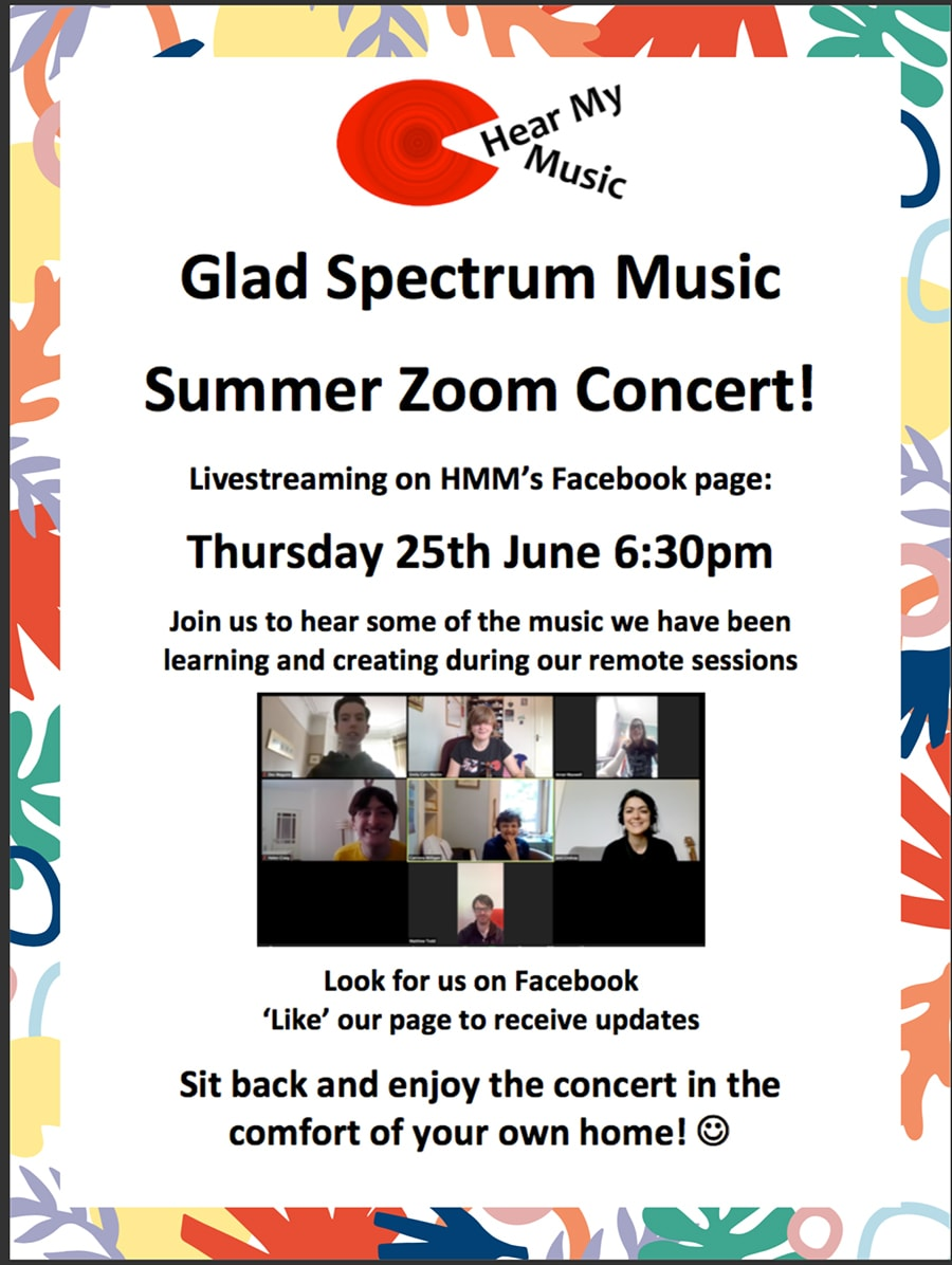 glad spectrum music covid